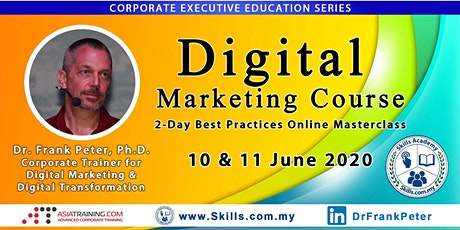 2-Day Digital Marketing Course – Best Practices Online Masterclass tickets