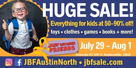 JBF Austin North Back to School Sale tickets