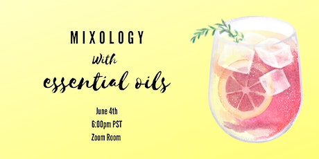 Mixology with Essential Oils tickets