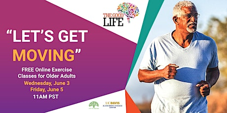 Let's Get Moving - Online Exercise Class for Older Adults - Week 5 tickets