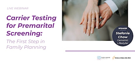 Carrier Testing for Premarital Screening: The First Step in Family Planning entradas