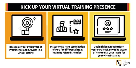 Kick Up Your Virtual Training Presence tickets