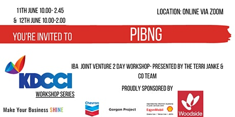Pilbara Indigenous Business Networking Group- IBA  Joint Venture Workshop tickets