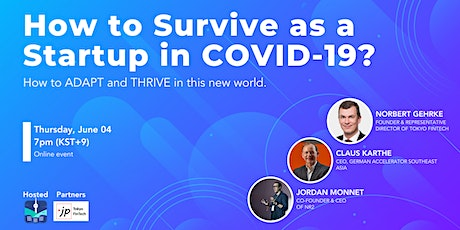 How to Survive as a Startup in COVID-19? How to ADAPT and THRIVE. tickets