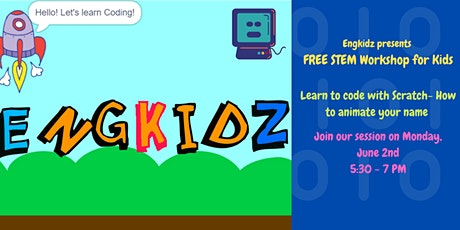 FREE Virtual STEM Workshop – Coding with Scratch tickets