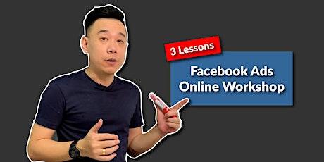 Facebook Ads Online Workshop entradas
