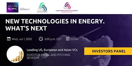 Trends in energy sector: leading VCs panel and pitching tickets