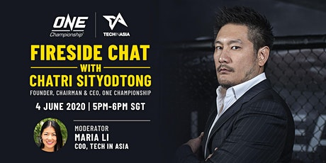 Fireside Chat with Chatri Sityodtong bilhetes