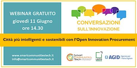 Le conversazioni sull'innovazione del Cluster Smart Communities #3 biglietti