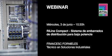 [WEBINAR] RiLine Compact - Sistema de embarrados de distribución de baja... entradas