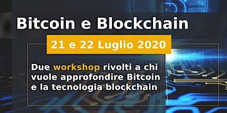Bitcoin e blockchain biglietti