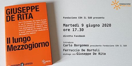 Il lungo Mezzogiorno di Giuseppe De Rita biglietti