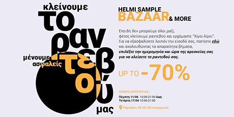 Helmi Bazaar tickets