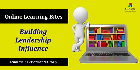 Building Leadership Influence (Online) tickets