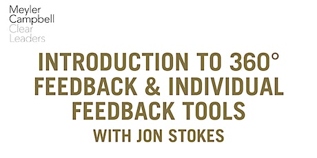 Free Webinar: Intro to 360 & Individual Feedback Tools with Jon Stokes #2 tickets