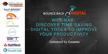 Bounce Back Digital Series: Discover Digital Tools to Improve Productivity tickets