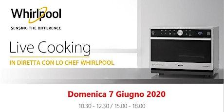 Corso di Cucina con Microonde Whirlpool Live Cooking con Unieuro biglietti