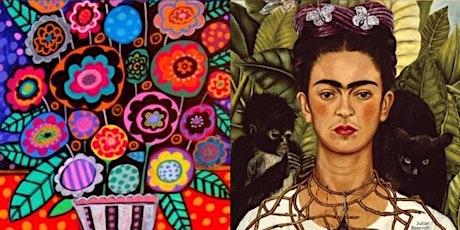 Children's Art Webinar Frida Kahlo Mexican Folk Art tickets