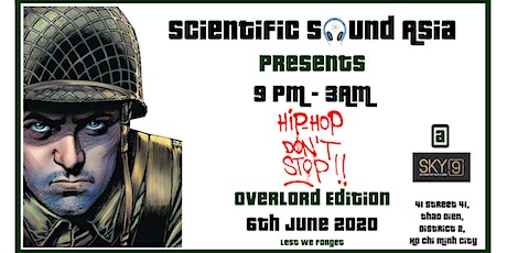 Hip Hop Don't Stop Overlord 4th Edition tickets