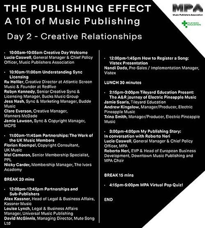 MPA The Publishing Effect - A 101 of Music Publishing image