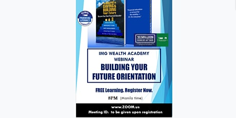 ONLINE FINANCIAL SEMINAR: Building Your Future, June 1, Monday, 7:45PM tickets