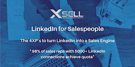 LinkedIn 4xP Training for Sales & Marketing tickets