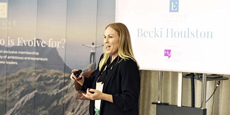 Evolve Webinar: Becki Houlston, building resilience in uncertain times tickets