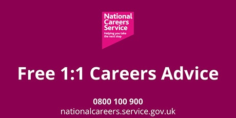 Free 1:1 Careers Advice - London Residents tickets