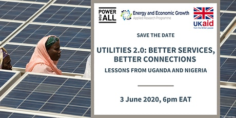 Utilities 2.0: Better Services, Better Connections tickets