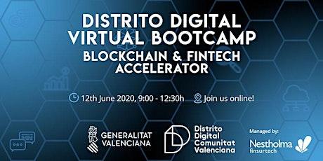 Distrito Digital Virtual Bootcamp  - Blockchain & Fintech Accelerator tickets