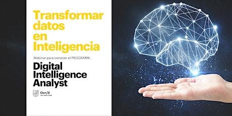 Transformar datos en inteligencia: Digital Intelligence Analyst entradas