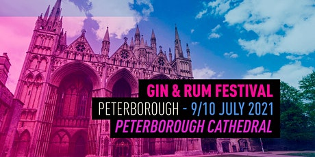The Gin & Rum Festival - Peterborough - 2021 tickets