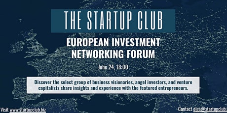 EUROPEAN INVESTMENT NETWORKING FORUM tickets