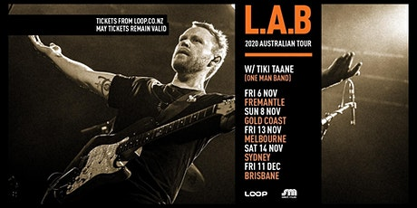 L.A.B - Melbourne [ Forum] Nov 2020 tickets