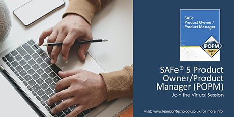 SAFe® Product Manager / Product Owner Virtual Class tickets