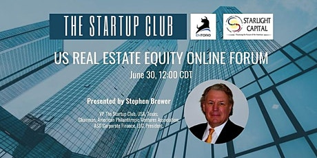 US Real Estate Equity Online Forum tickets