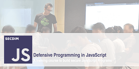 Defensive Programming in JavaScript - Live Online tickets