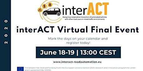 interACT Virtual Final Event tickets