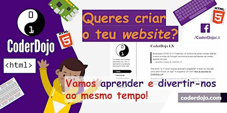 CoderDojo LX #261 – HTML/CSS: Programação web #2 bilhetes