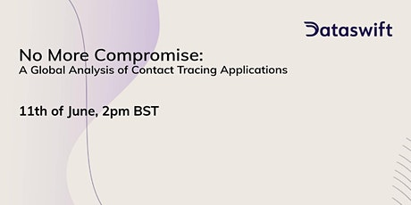 Webinar: No More Compromise - Contact Tracing Global Analysis tickets