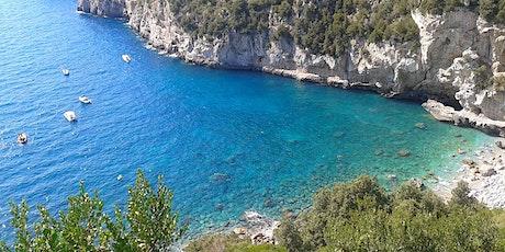 Visita spiagge libera Cala di Mitigliano biglietti