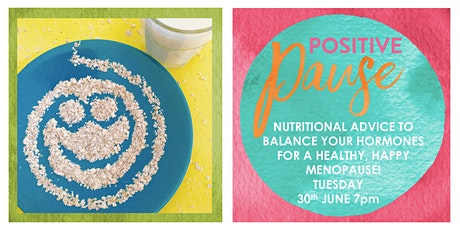 Balance Your Hormones with Nutrition for a Healthy, Happy Menopause tickets
