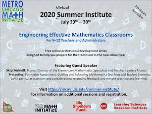 MCMI 2020 Summer Institute tickets