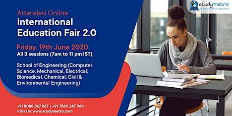 Online OIEF 2.0 with 200+ Universities (School of Engineering) 19 June 2020 tickets