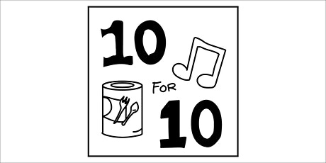 10 for 10 (Ten Songs for Ten Cans) tickets