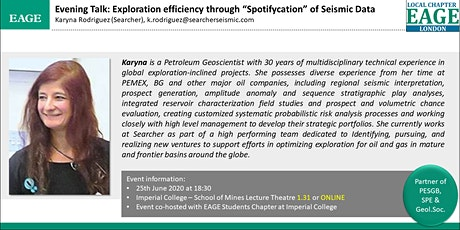"""EAGE London: Exploration efficiency through """"Spotifycation"""" of Seismic Data tickets"""