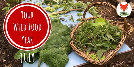 Your Wild Food & Foraging Year: July - Live Workshop tickets