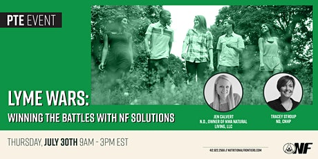 Lyme Wars: Winning the battles with NF Solutions tickets