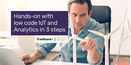 Hands-on with low code IoT and Analytics in 3 steps tickets