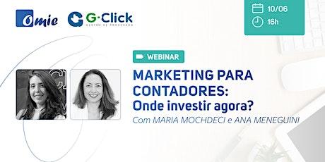 Marketing para Contadores: Onde Investir Agora ? bilhetes